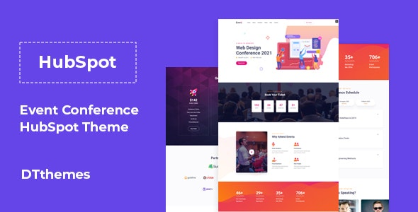 Eventa - Event Conference HubSpot Theme - Miscellaneous HubSpot CMS Hub