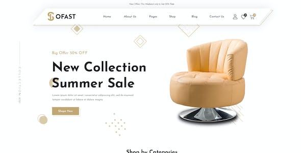 Sofast- Multipurpose eCommerce PSD Template