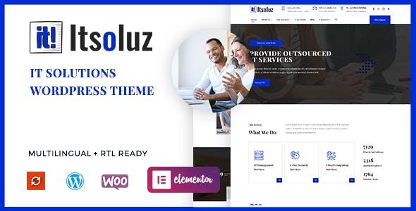 Itsoluz - IT Solutions WordPress Theme