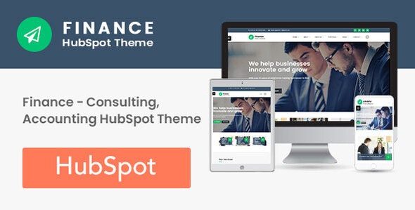 Finance - Consulting, Accounting HubSpot Theme - Corporate HubSpot CMS Hub