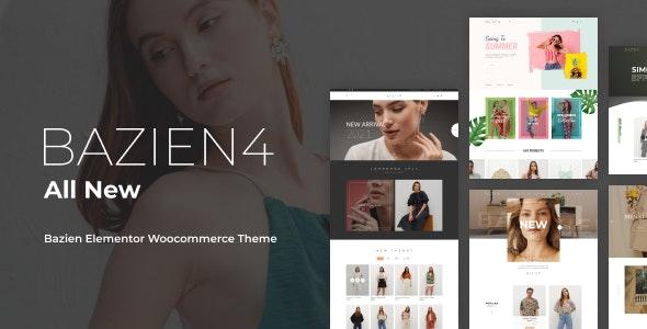 Bazien v4.0.4 – Elementor WooCommerce Theme