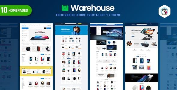 Warehouse - Electronics Store Prestahop 1.7 Theme
