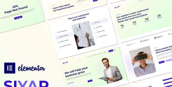 Siyap - Corporate & Business Elementor Template Kit