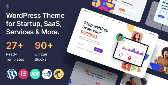 Fastland - Startup & SaaS WordPress Theme