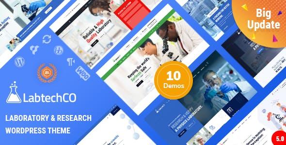 LabtechCO | Laboratory & Science Research WordPress Theme