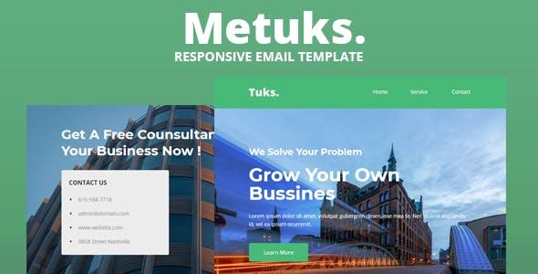 Metuks - Responsive Email Template