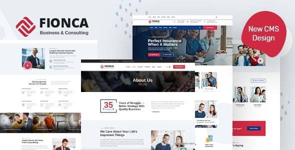 Fionca - Business & Finance HubSpot Theme