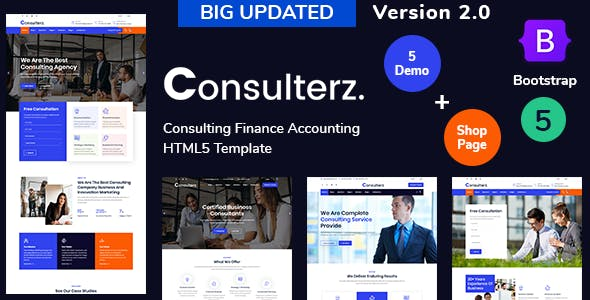 Consulterz - Consulting Finance Accounting + RTL Support