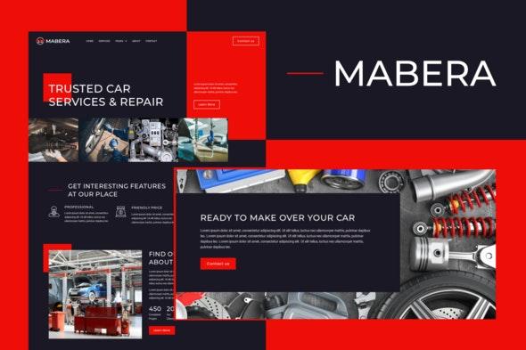 Mabera - Car Service & Repair Elementor Template Kit - Automotive & Transportation Elementor