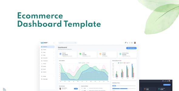 Evara - Bootstrap 5 Ecommerce Frontend & Dashboard Template