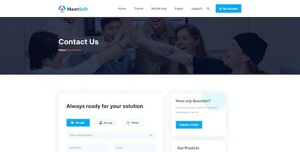 MaanSoft-Digital Marketplace Figma Template