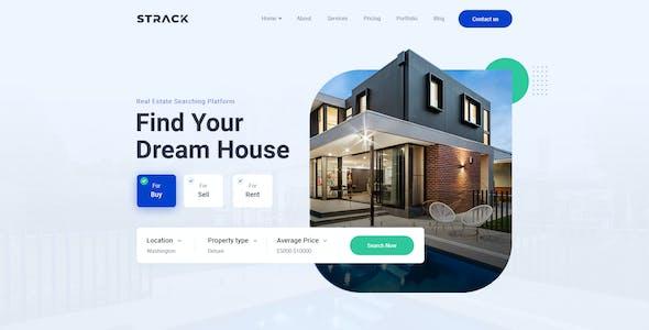 STRACK Multipurpose Business   PSD Template
