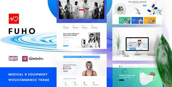 Fuho – Pharmacy Store WooCommerce Theme