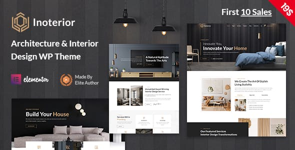 Inoterior - Architecturer WordPress for Interior Designer
