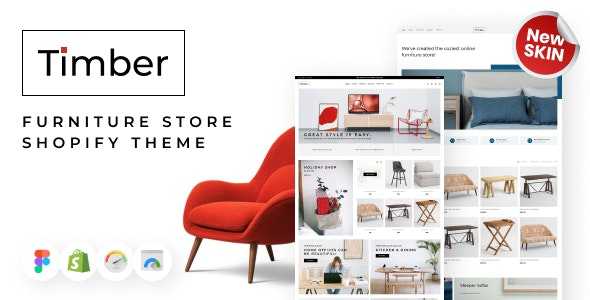 Timber - Shopify Themes Furniture Store - Shopping Shopify