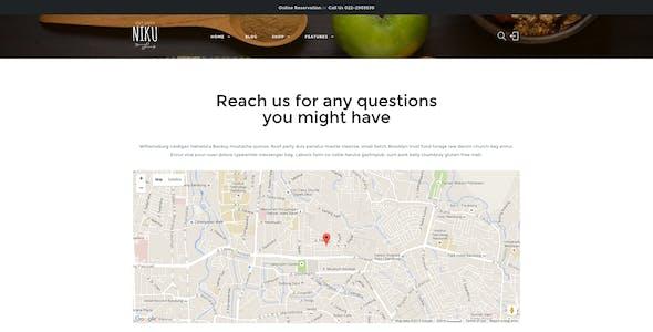 Niku - Restaurant & Food Menus WooCommerce Theme