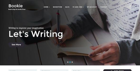 Bookie - WordPress Theme for Books Store