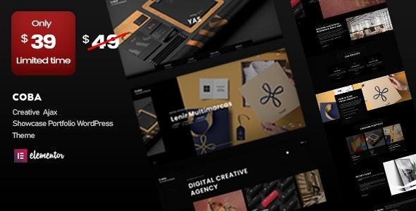 Coba - Ajax Portfolio WordPress Theme - Portfolio Creative
