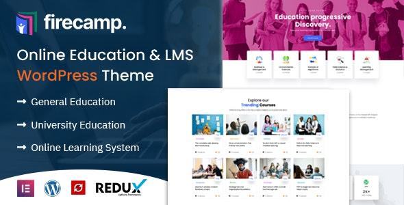 Firecamp - Education WordPress Theme - Education WordPress