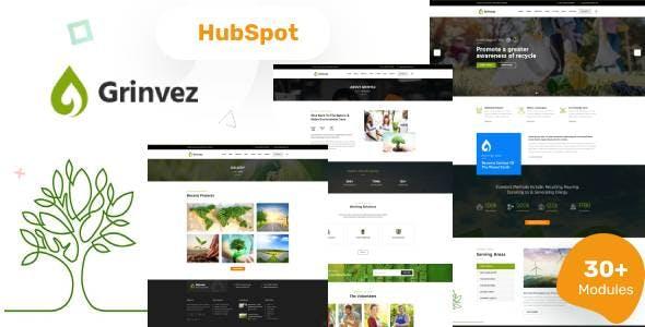 Grinvez - Environment HubSpot Theme