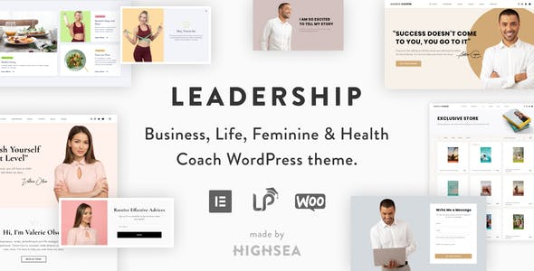 Leadership – Coach Online Courses WordPress Theme