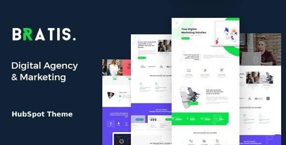 Bratis - Digital Marketing HubSpot Theme