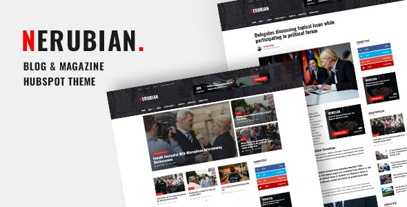 Nerubian - Blog and Magazine Hubspot Theme - Blog / Magazine HubSpot CMS Hub