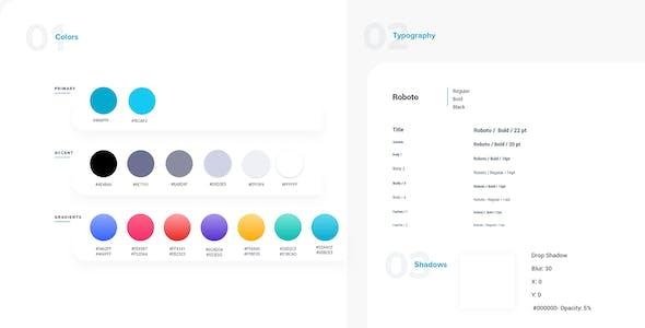 Fungib – NFT Marketplace Adobe XD Template