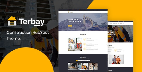Terbay - Construction HubSpot Theme - Corporate HubSpot CMS Hub