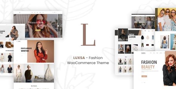 LUXSA - Fashion WooCommerce Theme