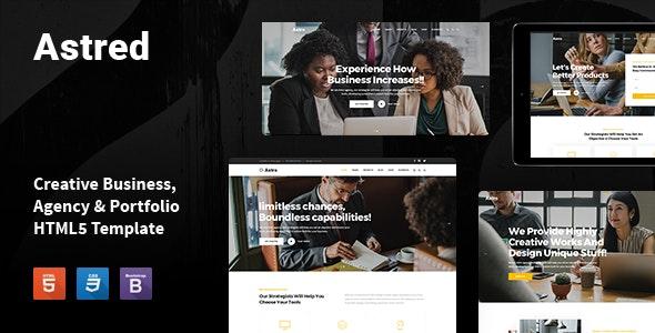 Astred - Modern Multi-Purpose HTML Template - Business Corporate