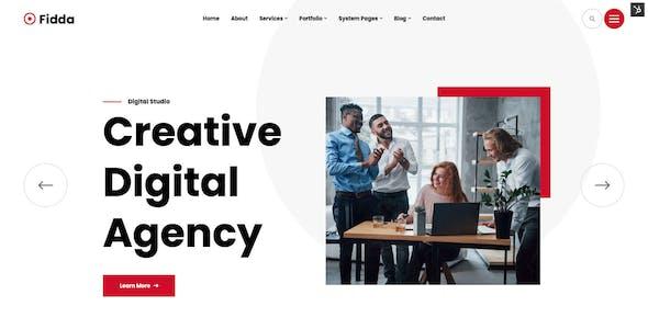 Fidda - Portfolio & Agency HubSpot Theme