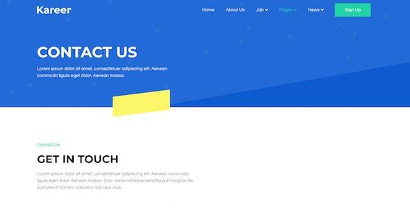 Kareer – Human Resource & Recruitment Agency Elementor Template Kit