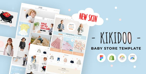 Kikidoo - Baby Store Shopify Theme for Children Fashion Boutique & Toy Store