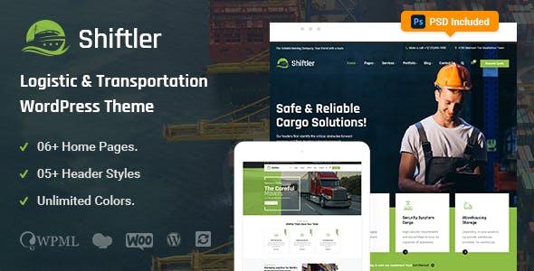 Shiftler – Transportation & Logistics WordPress Theme