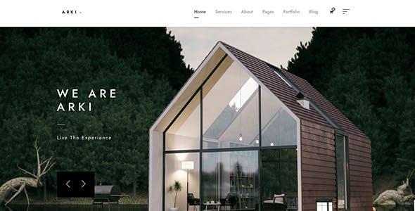 Arki - Architecture WordPress