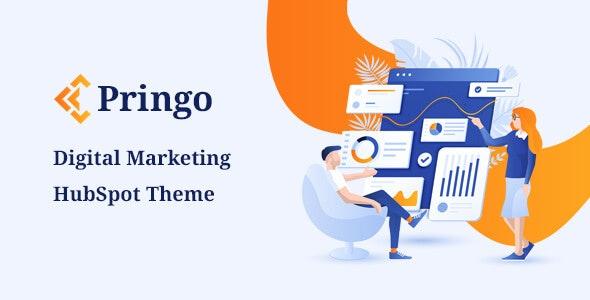 Pringo - Digital Marketing HubSpot Theme - Creative HubSpot CMS Hub