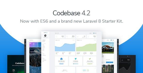 Codebase - Bootstrap 4 Admin Dashboard Template & Laravel 8 Starter Kit