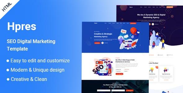 Hpres-SEO Digital Marketing HTML Template