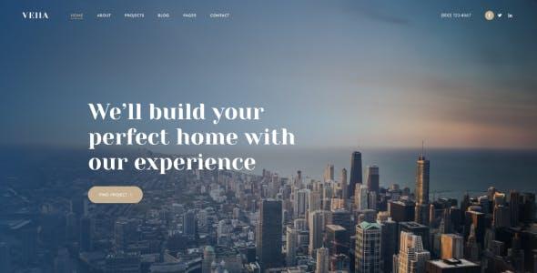 Vella - Real Estate WordPress Theme