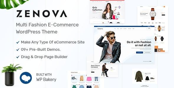Zenova - Fashion WooCommerce WordPress Theme