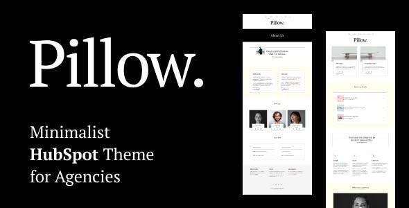 Pillow - Minimalist HubSpot Theme for Agencies