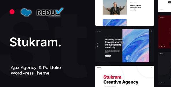 Stukram - AJAX Agency & Portfolio WordPress Theme - Creative WordPress