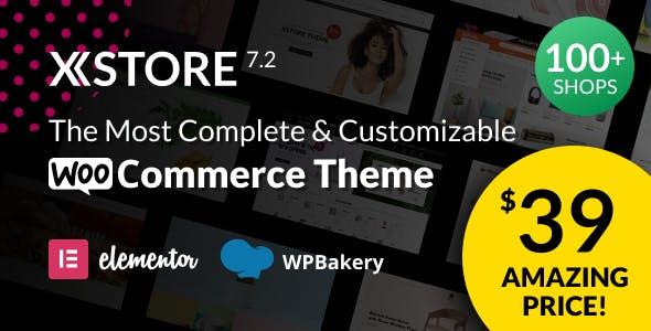 XStore |  Highly Customizable WooCommerce Theme & WordPress
