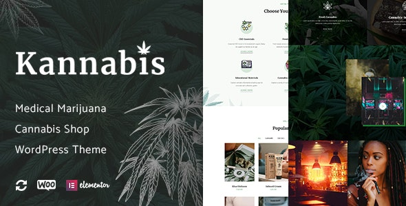 Kannabis - Medical Marijuana & Cannabis WordPress Theme - Health & Beauty Retail