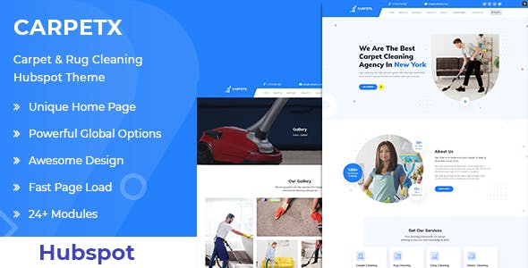 Carpetx - Cleaning Services HubSpot Theme
