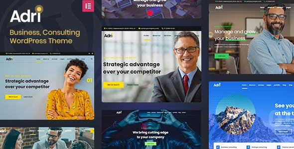Adri - Business and Consulting WordPress Theme
