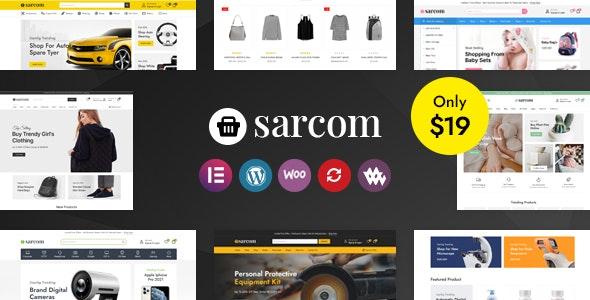 Sarcom - Fashion WooCommerce Theme - WooCommerce eCommerce
