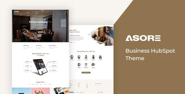 Asore - Business HubSpot Theme