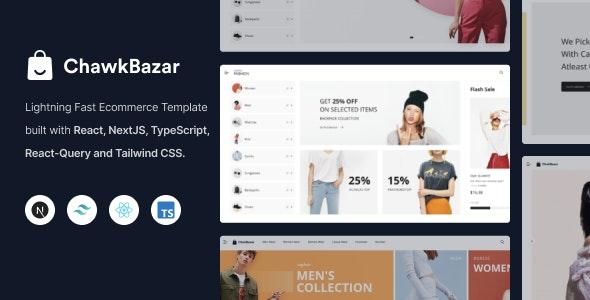 ChawkBazar - React Next Lifestyle Ecommerce Template - Fashion Retail